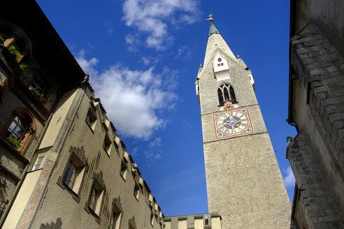 Weißer Turm, Große Lauben, Altstadt, Brixen, Südtirol, Italien - LBF02444
