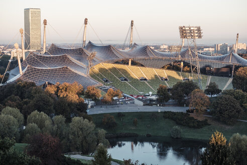 Germany, Munich, Olympic Park - WFF00043