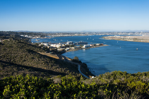 USA, California, San Diego, Overlook over San Diego - RUNF01579