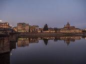Italy, Tuscany, Florence, Arno, Chiesa di San Frediano in Cestello, Ponte Alla Carraia - LAF02245