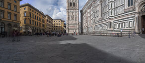 Italy, Tuscany, Florence, Florence Cathedral, Campanile di Giotto - LAF02263