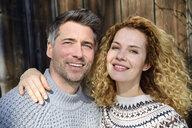 Germany, Bavaria, portrait of happy couple - ECPF00549