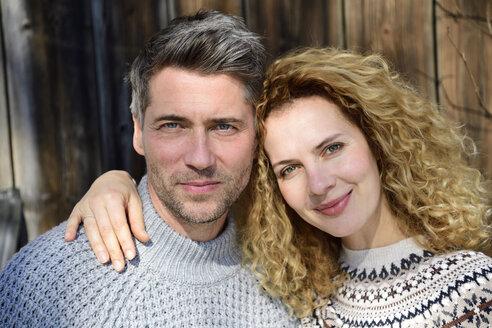 Germany, Bavaria, portrait of happy couple - ECPF00552