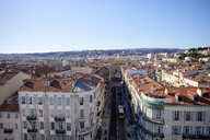 France, Nice, view to the city from above - HLF01153