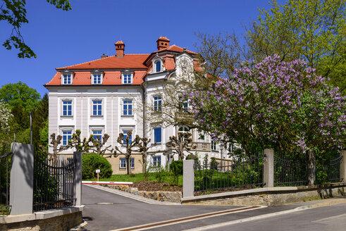 Rathaus am Anton-Roth-Weg, Schillingsfürst, Mittelfranken, Franken, Bayern, Deutschland - LBF02473