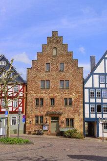 Steinhaus, erbaut um 1240, Frankenberg, Hessen, Deutschland - LB02479