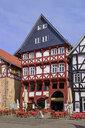 Germany, Fritzlar, old town, market square, - LB02482