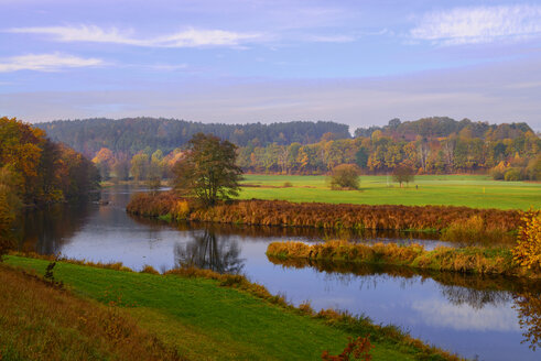 Germany, Bavaria, Regen river west of Roding - LBF02491