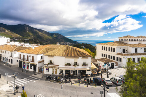Spain, old white village of Mijas in Malaga province - TAMF01173