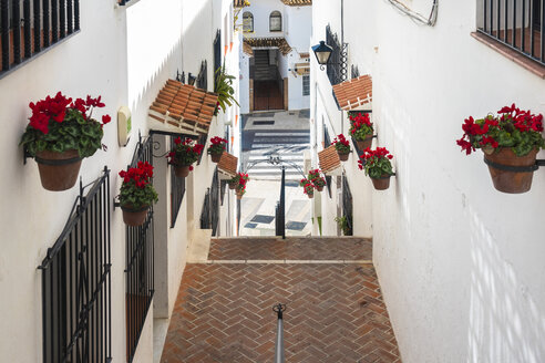 Spain, old white village of Mijas in Malaga province - TAMF01182