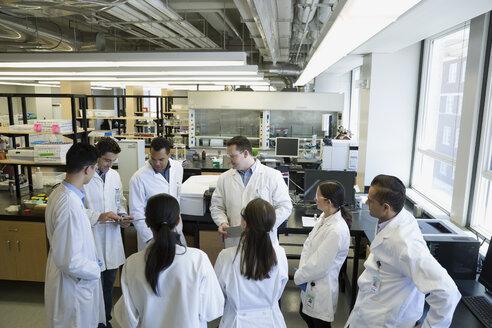 Scientists meeting in laboratory - HEROF30930