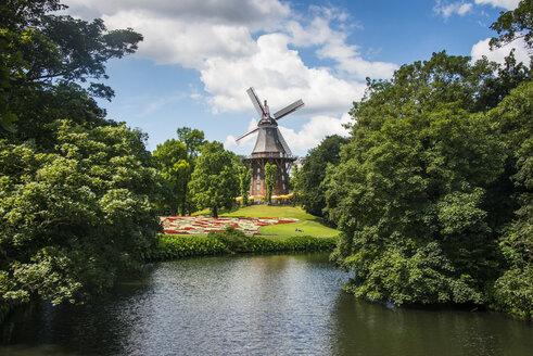 Germany, Bremen, Old wind mill, Am Wall Windmill - RUNF01611