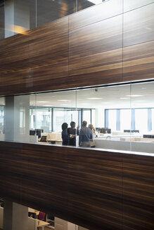 Business people talking in modern office - HEROF31944