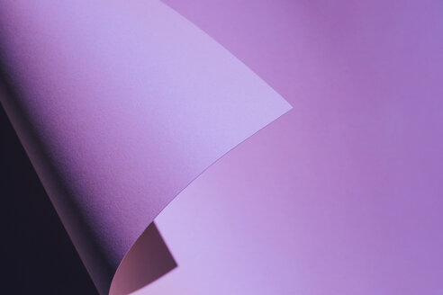 Purple folded paper as background - MOMF00654