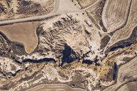 Spain, Navarra, Bardenas Reales, aerial view - RSGF00143