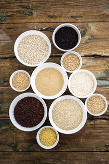 Cereal mix: black rice, red rice, barley, amaranth, quinoa, rice, bulgur, spelt, oats and buckwheat - GIOF05920