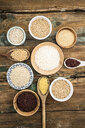 Cereal mix: red rice, barley, amaranth, quinoa, rice, bulgur, spelled, oats and buckwheat - GIOF05926