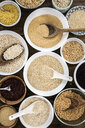Cereal mix: red rice, black rice, barley, amaranth, quinoa, rice, bulgur, spelt, oats and buckwheat - GIOF05935