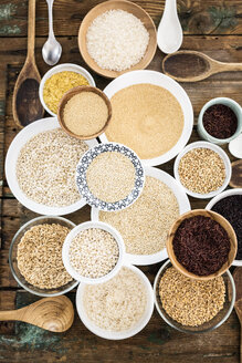 Cereal mix: red rice, black rice, barley, amaranth, quinoa, rice, bulgur, spelt, oats and buckwheat - GIOF05938