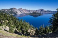 USA, Oregon, Klamath County, The caldera of the Crater lake National Park - RUNF01683