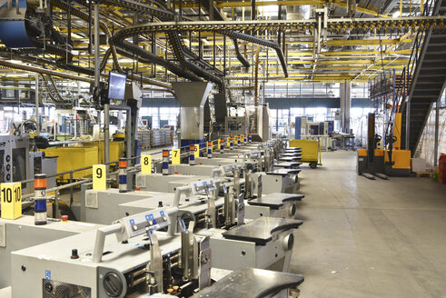 Machines for transport and sorting plant in a printing shop - SCHF00466