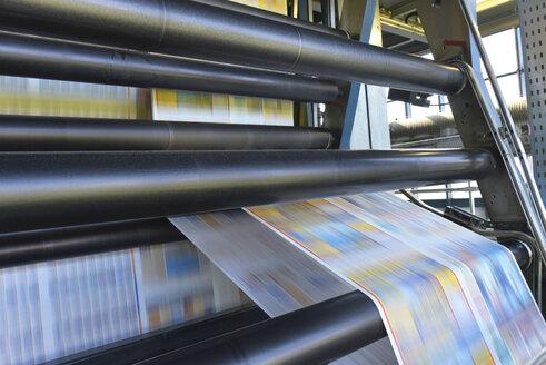 Printing machine in a printing shop - SCHF00490