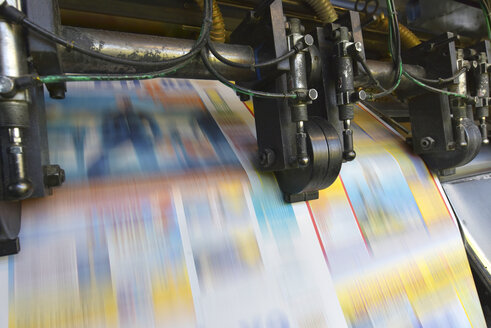 Printing machine in a printing shop - SCHF00496