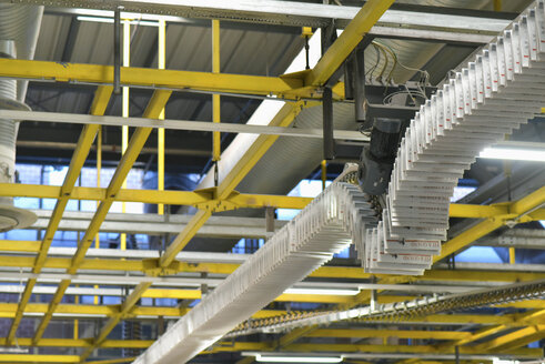 Machines for transport, conveyor belt  in a printing shop - SCHF00499