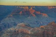 USA, Arizona, sunset over Grand Canyon - RUNF01718