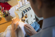 Dressmaker using sewing machine - HEROF34092