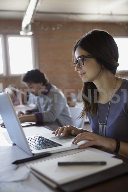 Designer using laptop in office - HEROF34251 - Hero Images/Westend61