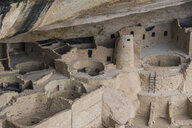 USA, Colorado, Mesa Verde National Park, Cliff Palace, indian dwelling - RUNF01729