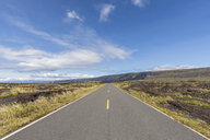 USA, Hawaii, Volcanoes National Park, lava fields along the Chain of Craters Road - FOF10522