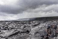 USA, Hawaii, Big Island, Volcanoes National Park, Ka Lae Apuki, lava fields - FOF10534