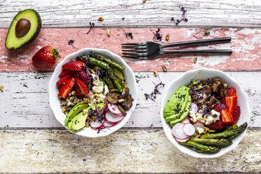 Veggie bowl with fresh ingredients - SARF04221