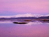 Iceland, Hoefn, sunrise over the Atlantic Ocean - TAMF01252