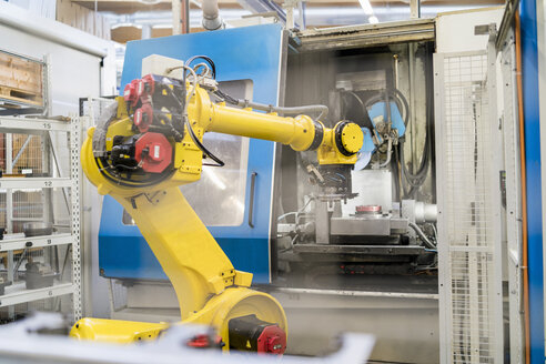 Industrial robot in modern factory - DIGF06715
