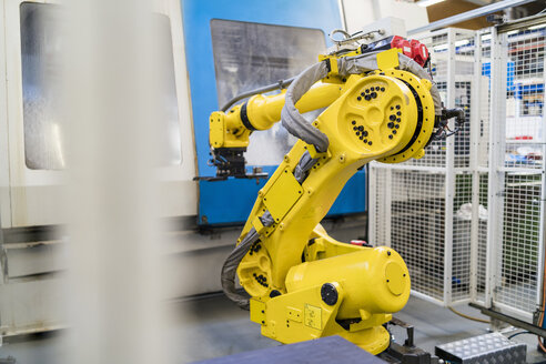 Industrial robot in modern factory - DIGF06718