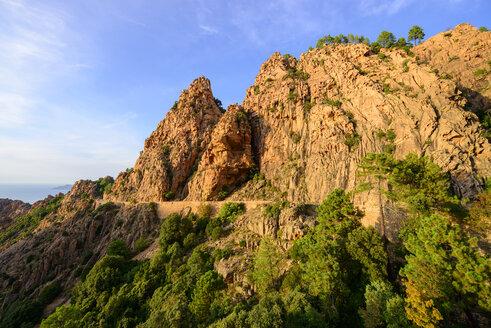 Calanche de Piana bei Porto, Korsika, Corse, Frankreich - LBF02510