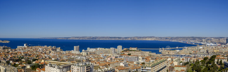 France, Marseille, view over Marseille - LBF02549