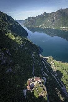 Italy, Trentino-Alto Adige, Castello San Giovanni at Lake Idro - WFF00081