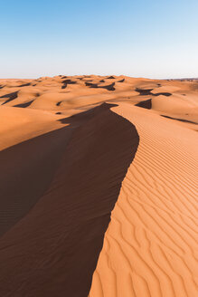 Sultanate Of Oman, Wahiba Sands, dunes in the desert - WVF01368