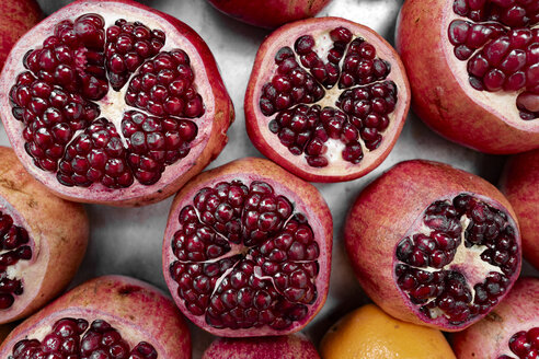 Pomegranate, from above - EYAF00162