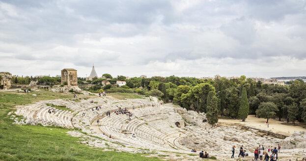 Italy, Sicily, Syracuse, greek theatre - MAMF00560