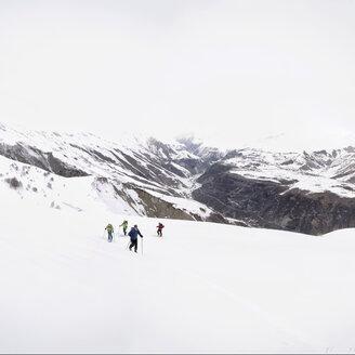 Georgia, Caucasus, Gudauri, Ski Touring to Lomisi Monastery - ALRF01457