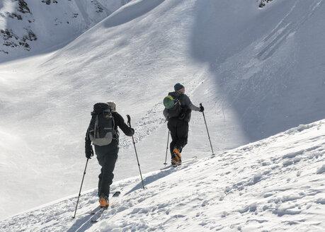 Georgia, Caucasus, Gudauri, Ski Touring - ALRF01496