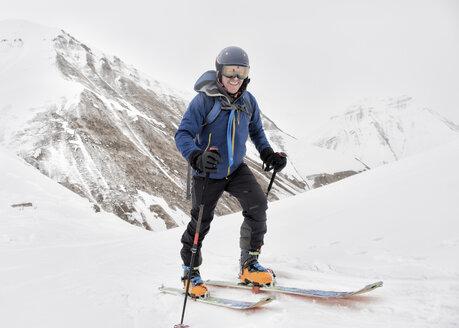 Georgia, Caucasus, Gudauri, Ski Touring - ALRF01502