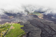 USA, Hawaii, Big Island, aerial view of the impacts of the volcanic eruption in 2018 - FOF10699