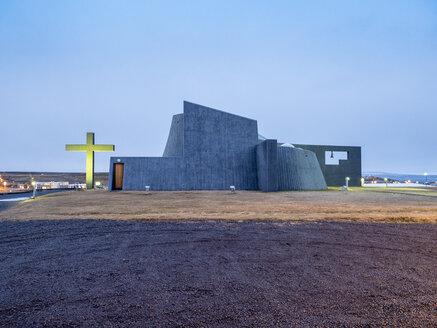 Iceland, Bloenduos, modern church - TAM01310