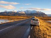 Iceland, Snaefellsjoekull National Park early in winter at sunrise - TAMF01316